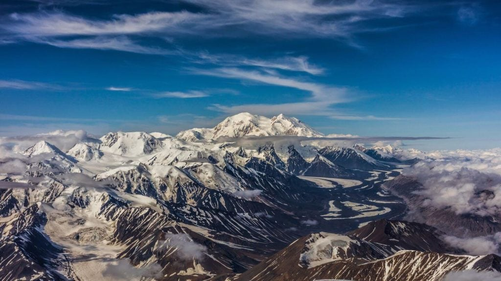 views from mount elbrus russia