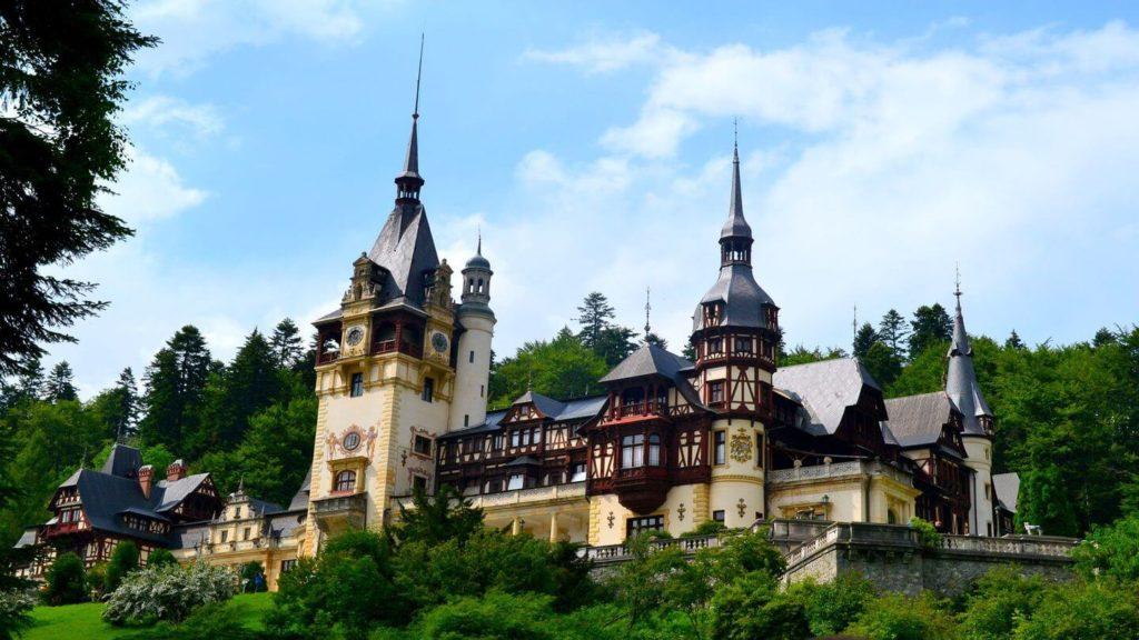 Peles Castle Sinaia Romania travel dream list