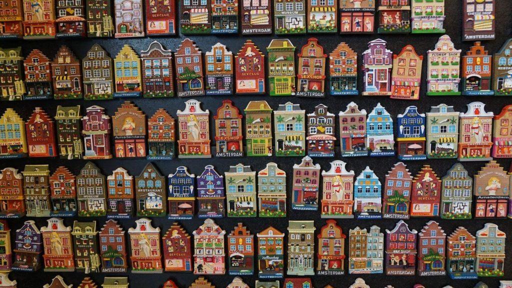 Amsterdam magnet wall souvenir collection ideas