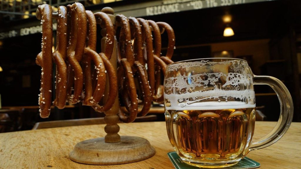 Czech beer pretzels things to do in Prague
