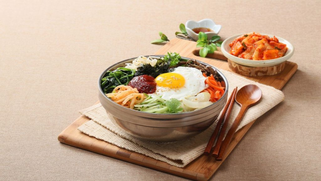 bibimbap dish south korea