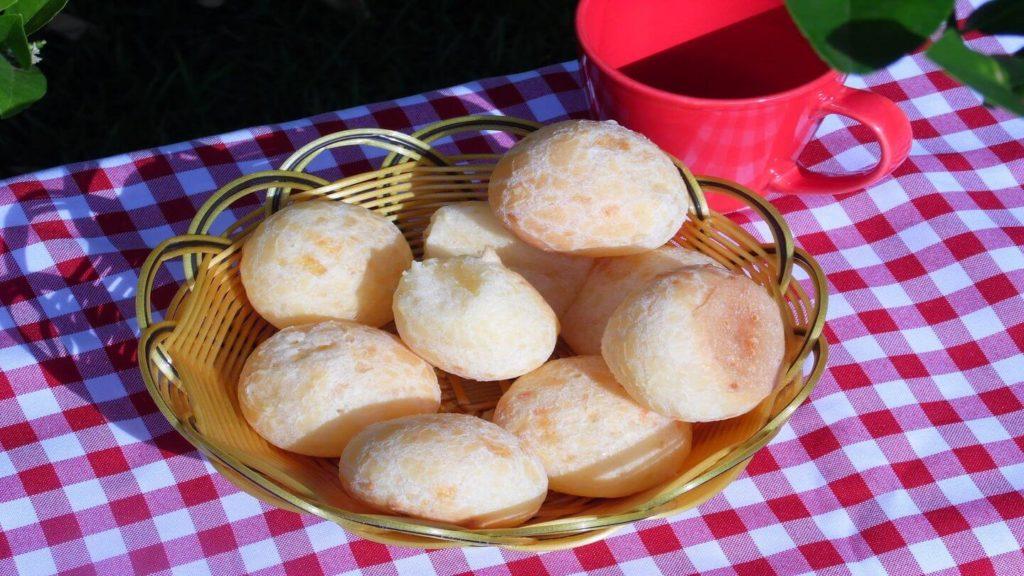 Pão de queijo Brazil cheese bread international bread recipes