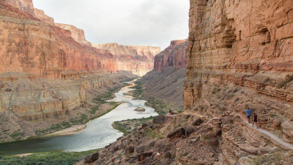 colorado river south rim grand canyon national park