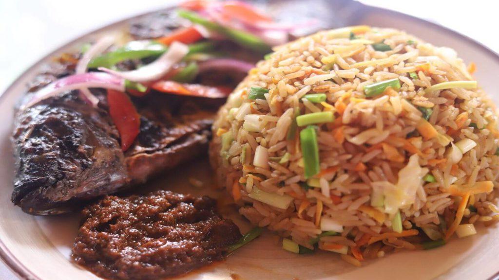 jollof rice meat west africa rice recipe