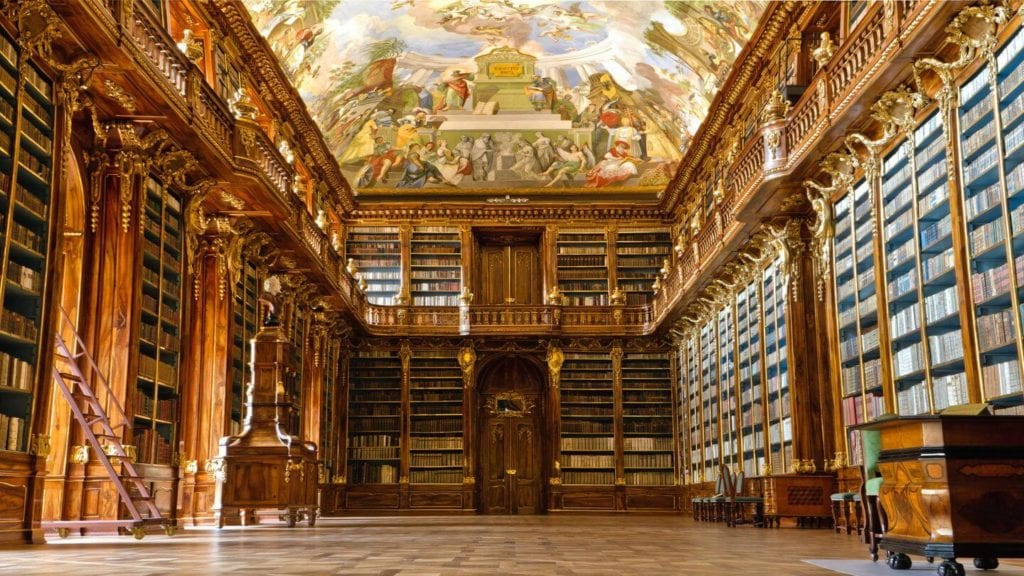 strahov monastery library things to do in Prague