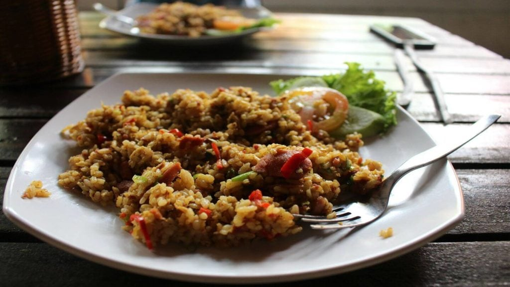 nasi goreng indonesian rice recipe