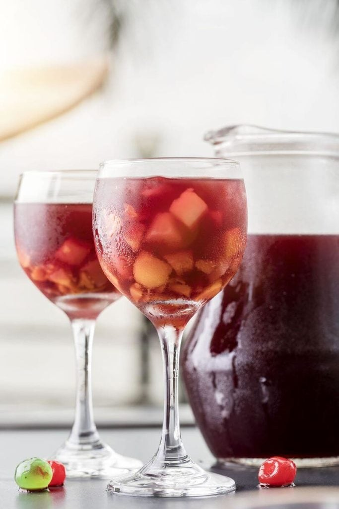 sangria glasses jug world's best cocktails