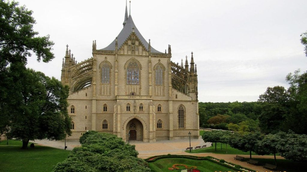 st barbara cathedral kutna hora prague czech republic