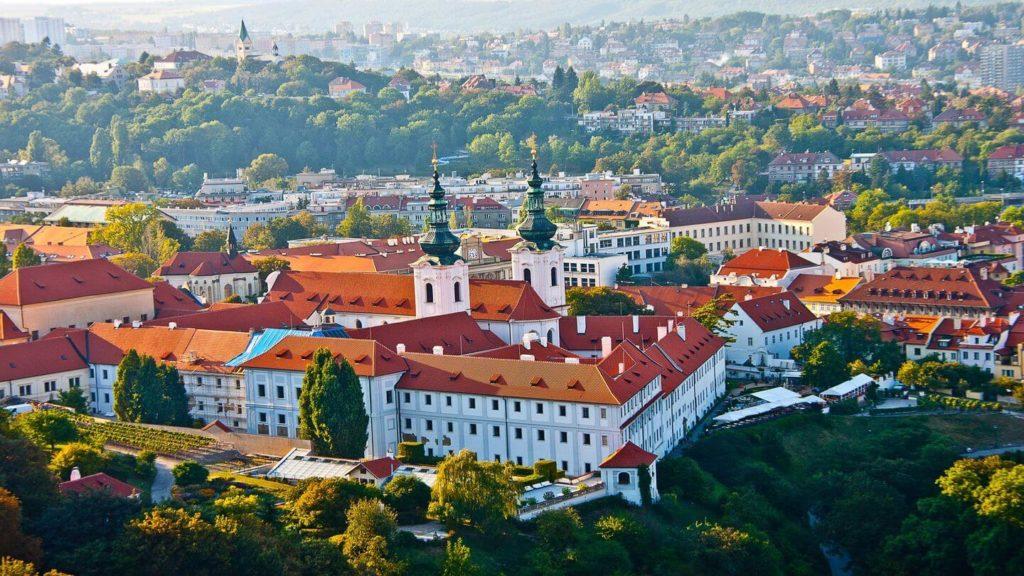 Strahov Monastery complex Prague