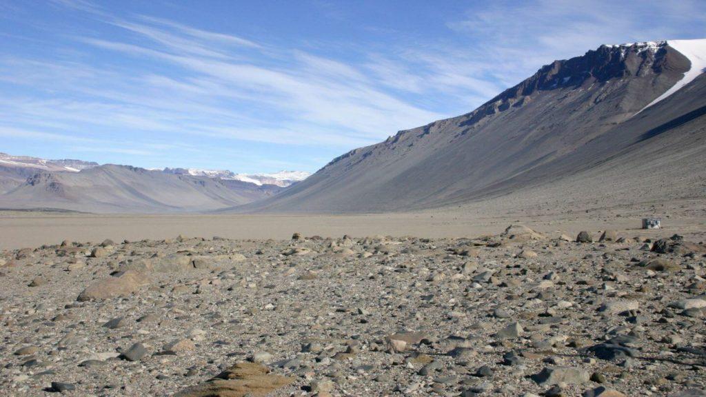 Wright Valley McMurdo Dry Valleys Antarctica