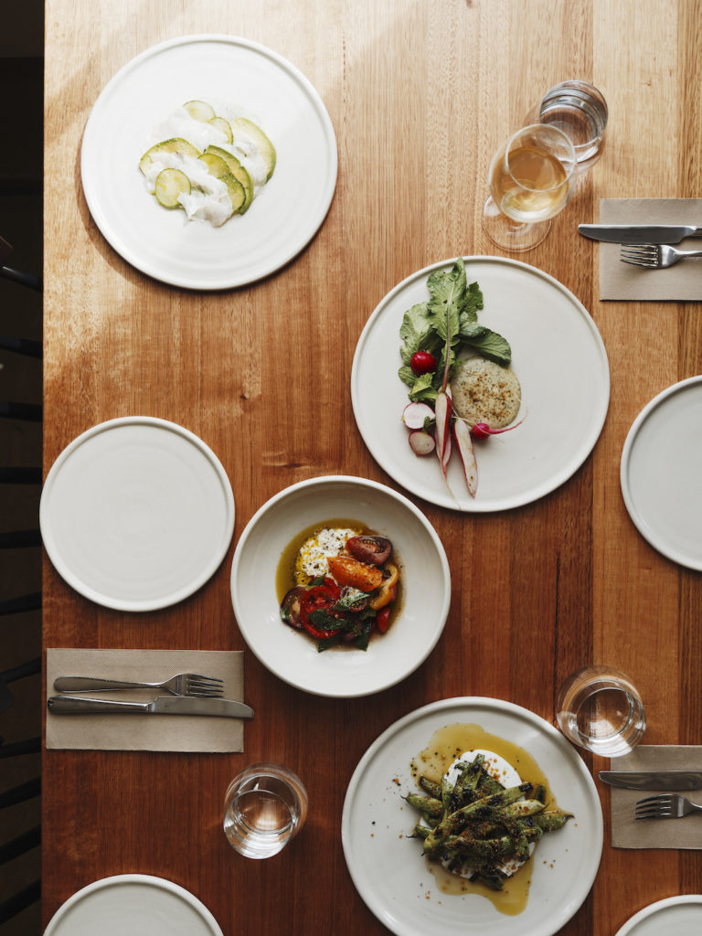 food at the agrarian kitchen