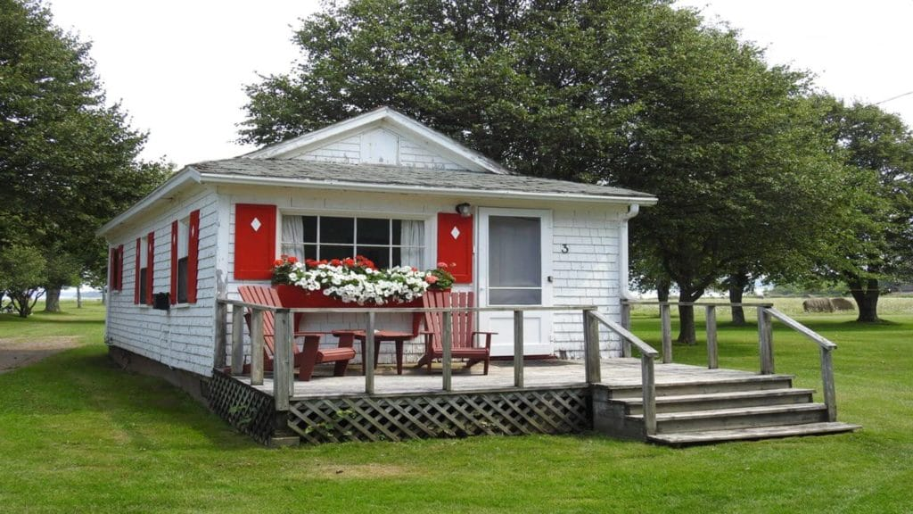 historic cottage Shaw's Hotel Charlottetown Prince Edward Island