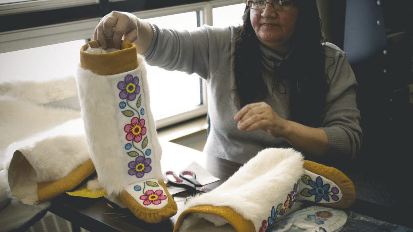 Manitobah Mukluks Storyboot School Project