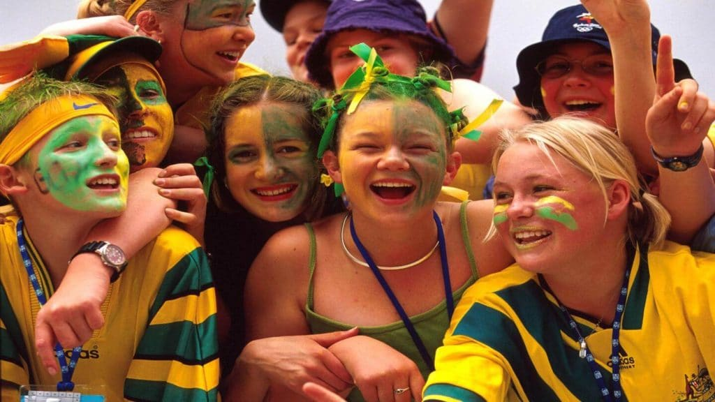 australians dressed in green and gold what aussies love about australia