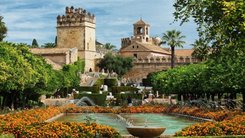 The Alcazar Cordoba palace Spain