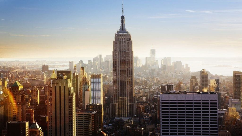 Empire State Building New York City skyline United States