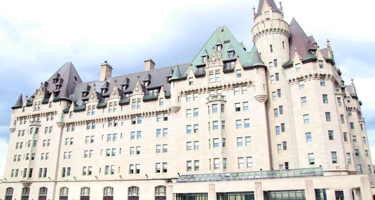 Fairmont Château Laurier Ottawa castles in Canada