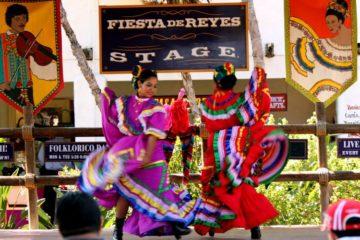traditional dancers Fiesta de Reyes Old Town San Diego