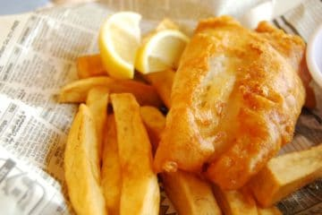 fish and chips in newspaper Australia