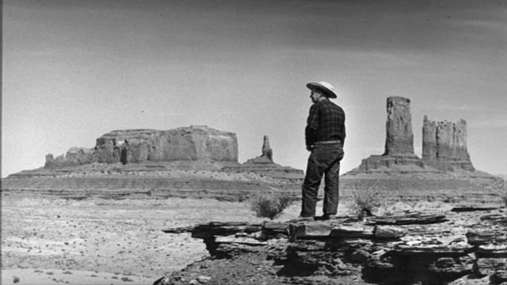 Harry Goulding at John Ford's Point Monument Valley