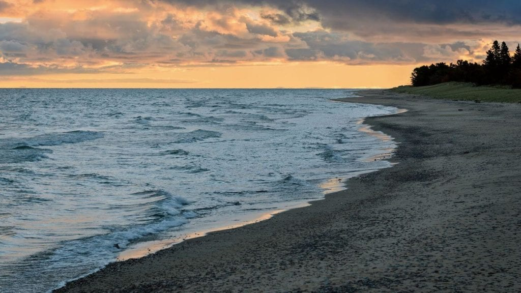 Lake Superior beach sunset things you may not know about America