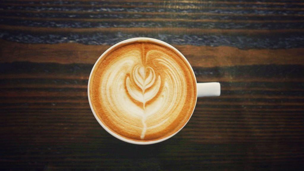 latte art Melbourne's coffee culture