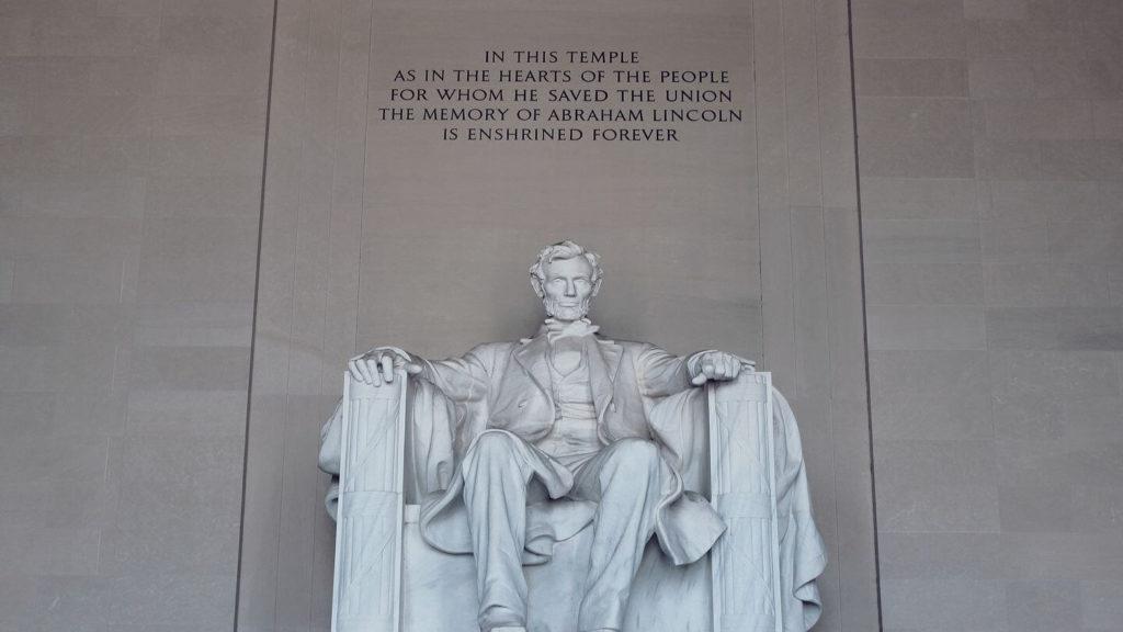 Lincoln Monument Washington DC United States