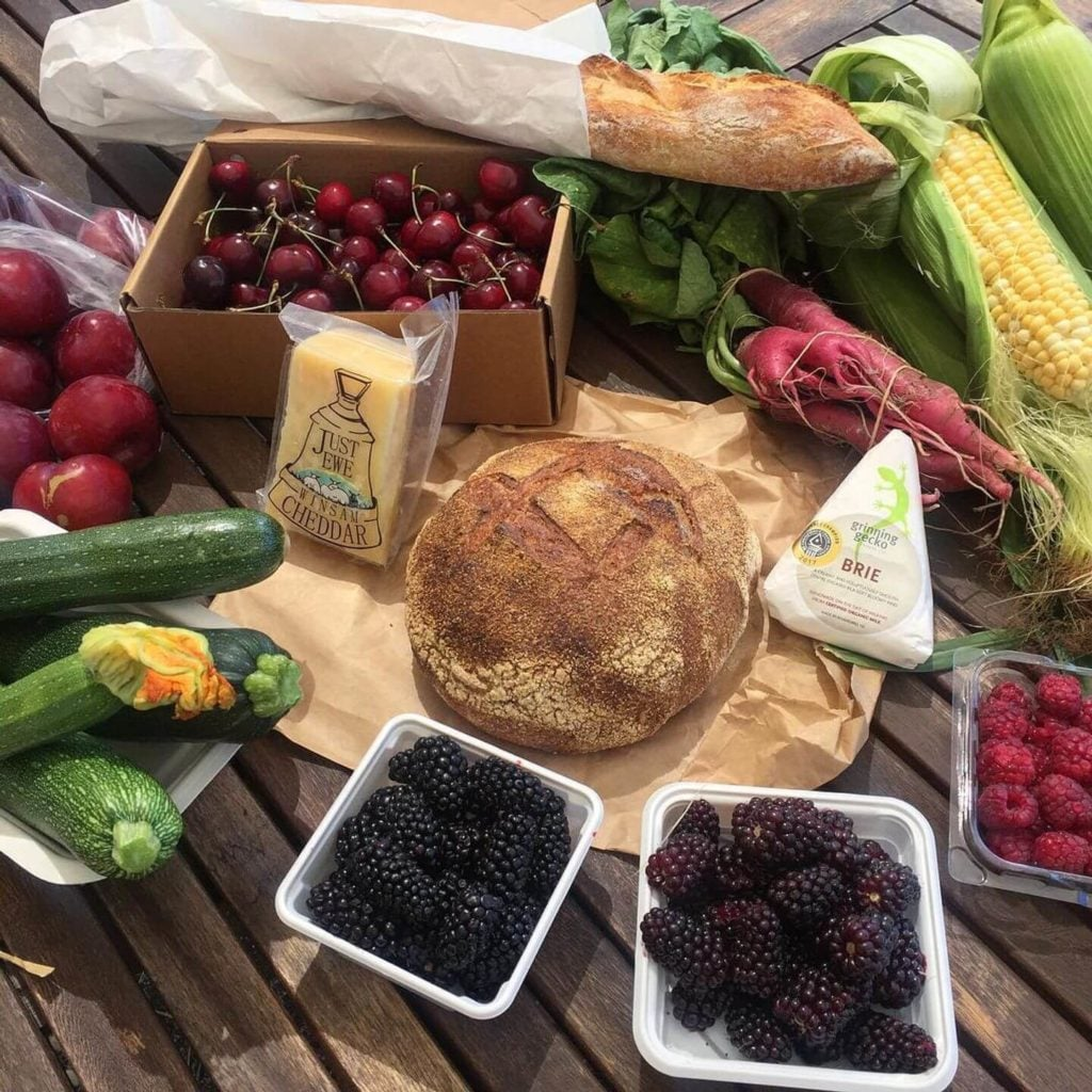 fresh produce from the Old Packhouse Market New Zealand