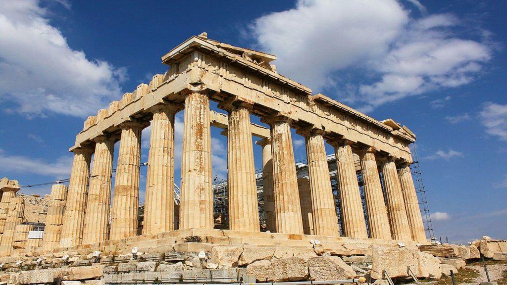 parthenon Athens Greece UK air-bridge destinations