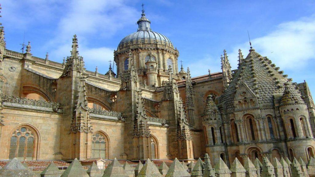 Baroque architecture Salamanca Spain UK air-bridge destinations