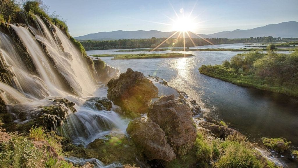 waterfall Snake River Idaho United States things you may not know about America