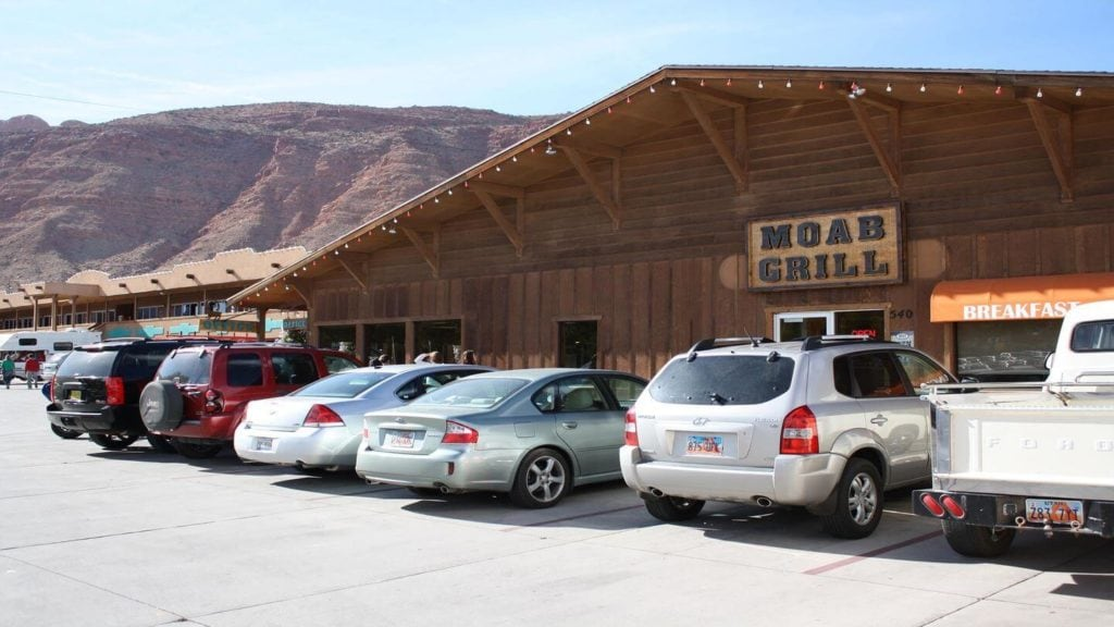 The Moab Grill exterior what to do in the USA