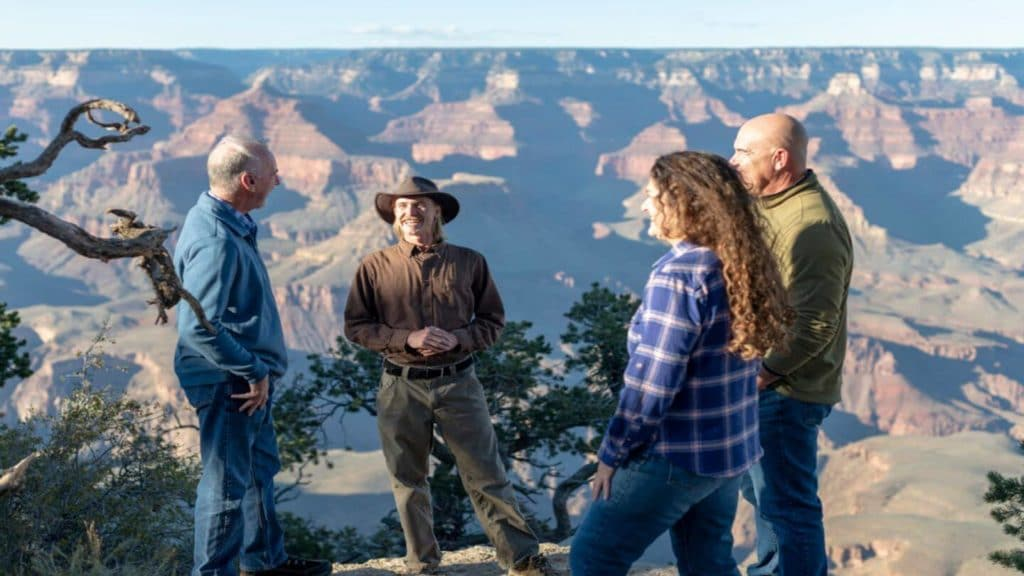 Tim Wilson with guests Grand Canyon geology expert