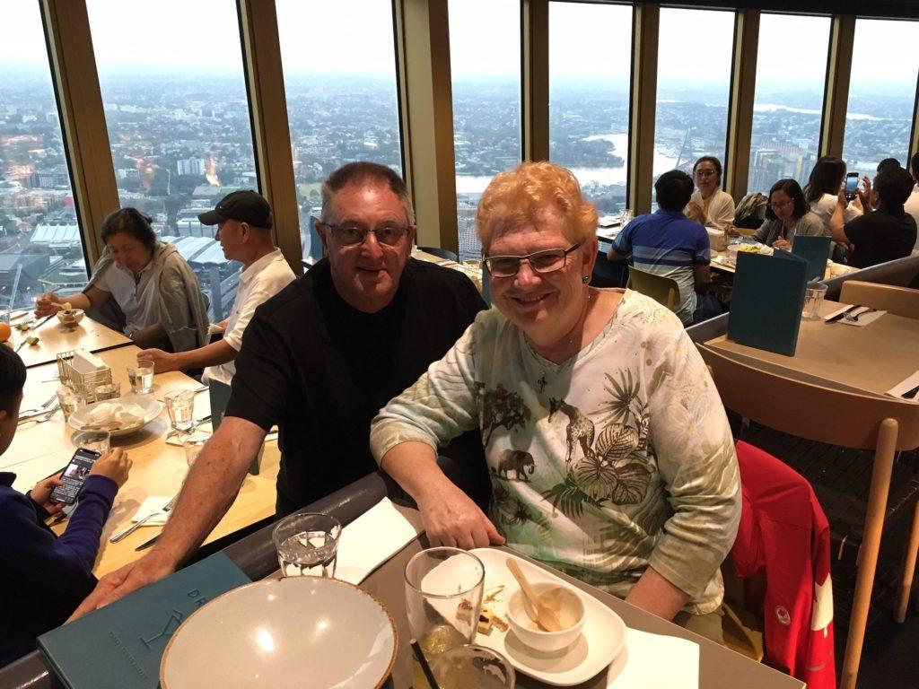 debbie and chris sydney tower