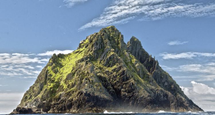 Skellig Michael, Ireland - Luke Skywalkers retreat