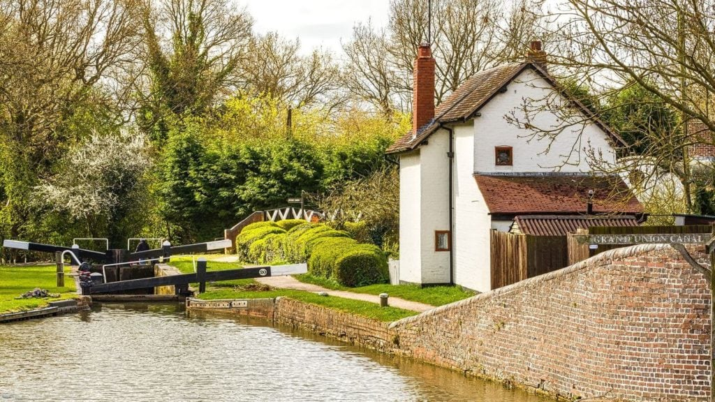 canal cottage Stratford-upon-Avon places to visit in England