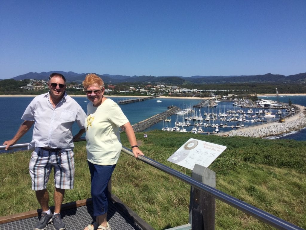 Debbie and Chris is Coffs Harbour