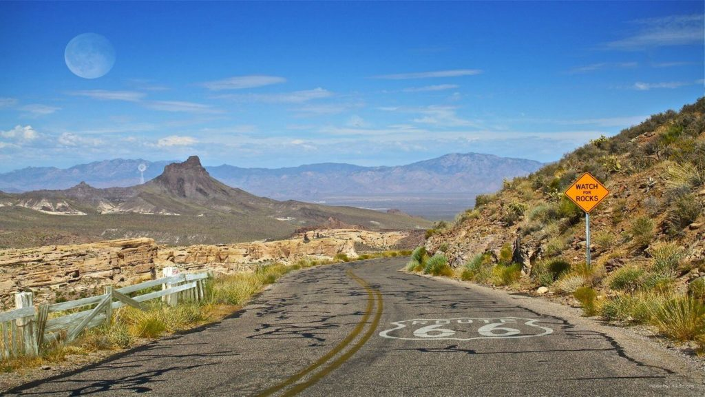 Route 66 scenic road USA travel bucket list