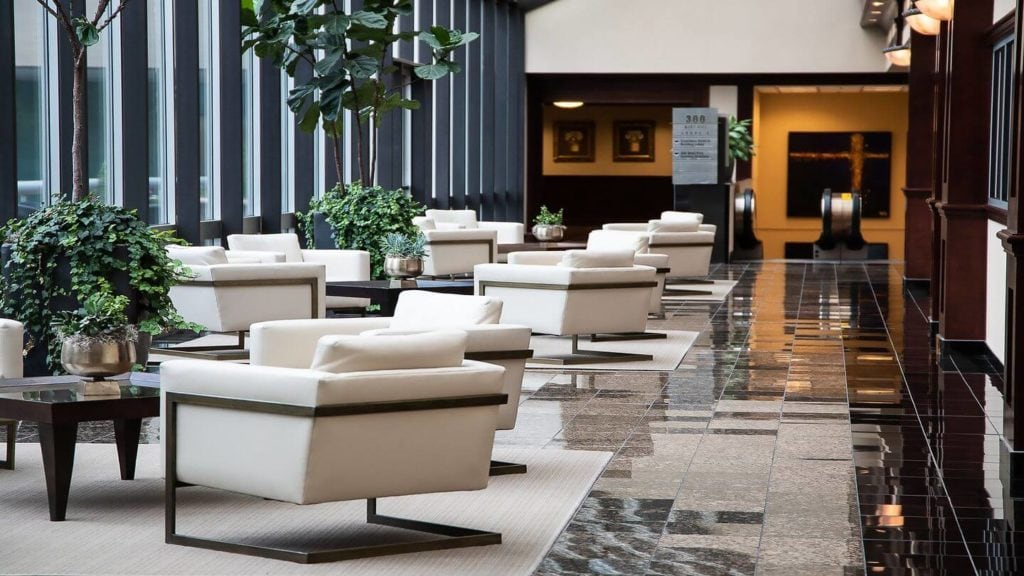 empty hotel lobby how hotels will change after COVD-19