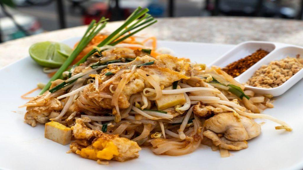 Pad Thai Thailand street food