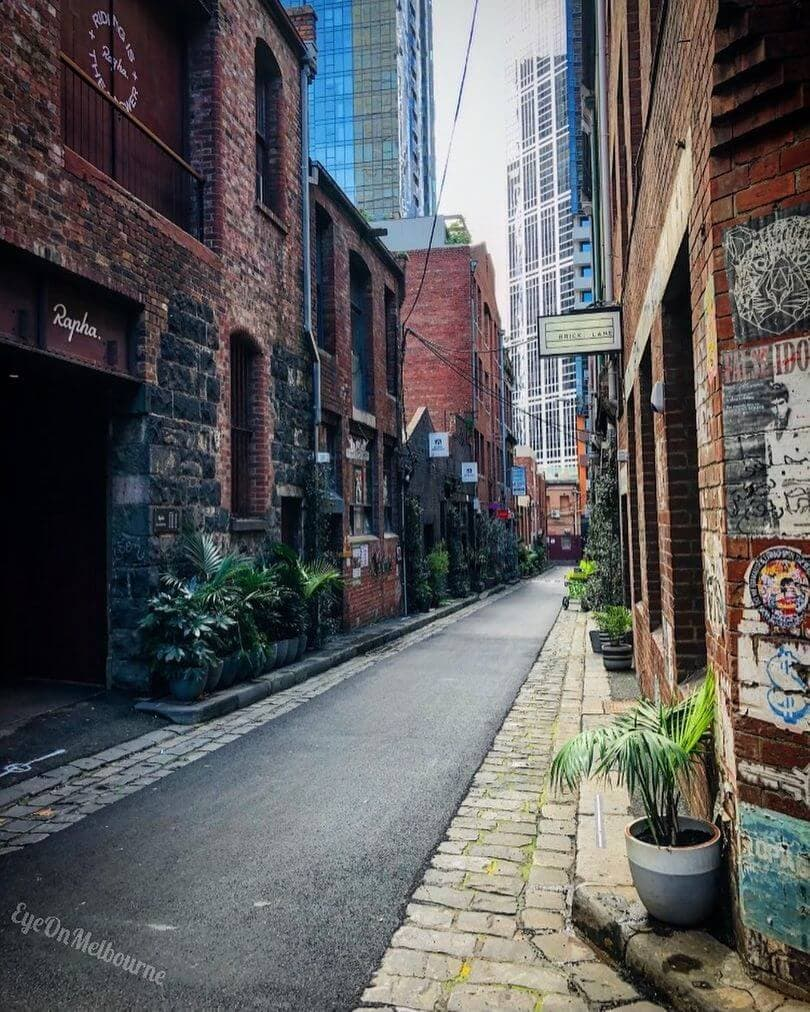 streets of Melbourne travelling in 2021