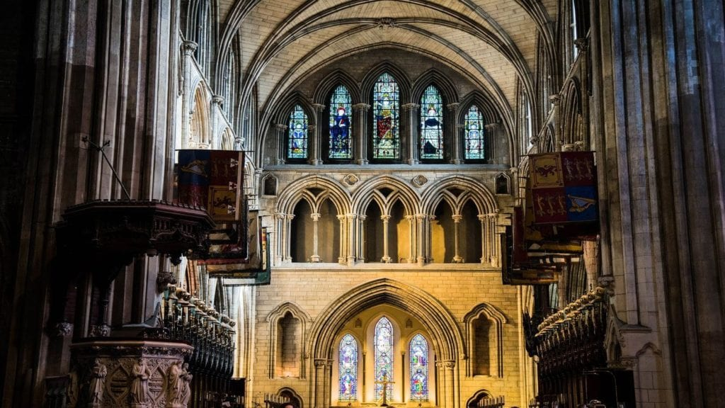 St. Patrick's Cathedral Dublin Ireland Christian tours