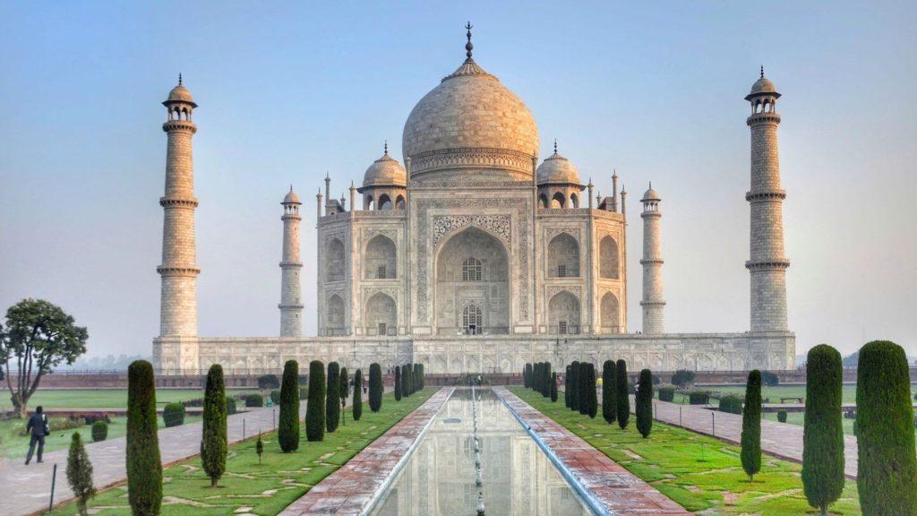 Taj Mahal India travelling in 2021
