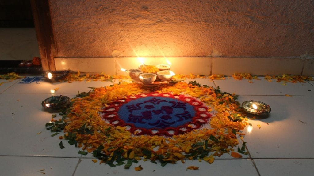 traditional offering in a family home