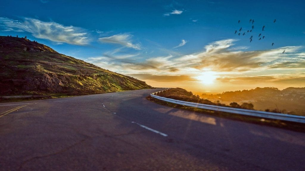 scenic mountain road 2021 travel trends