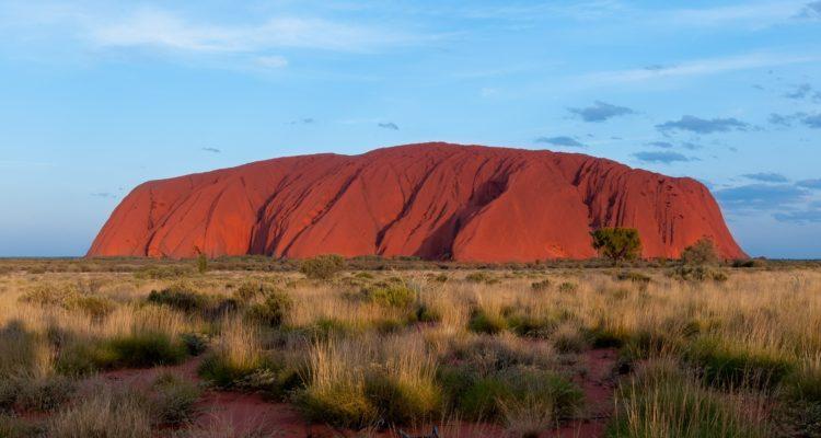 Uluru, or Ayers Rock, in Australia's Northern Territory