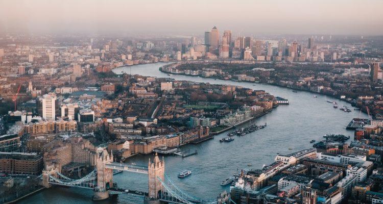 air corridor new york to london