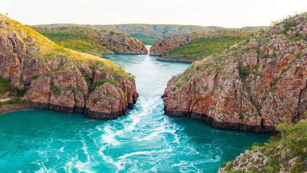 Horizontal Falls in the north of Western Australia - Credit Tourism Australia