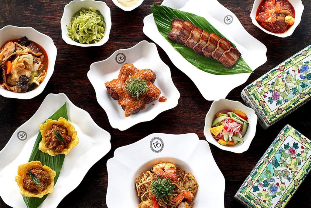 long table meal at National Kitchen by Violet Oon Singapore