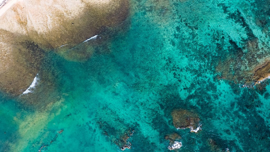 Ningaloo Reef from above - Credit Tourism Australia